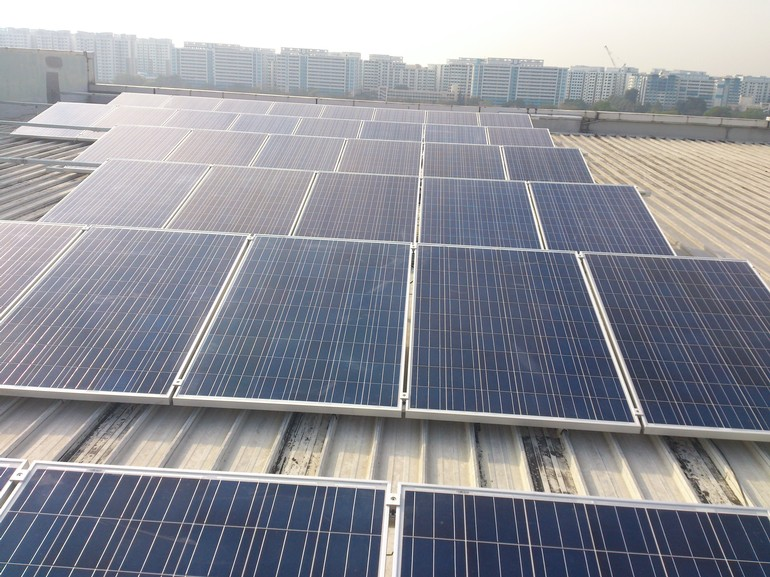 10 kW Solar PV System  - Admiralty